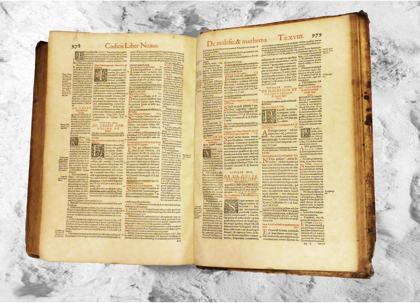 Codex Justinianus_kriminalmuseum