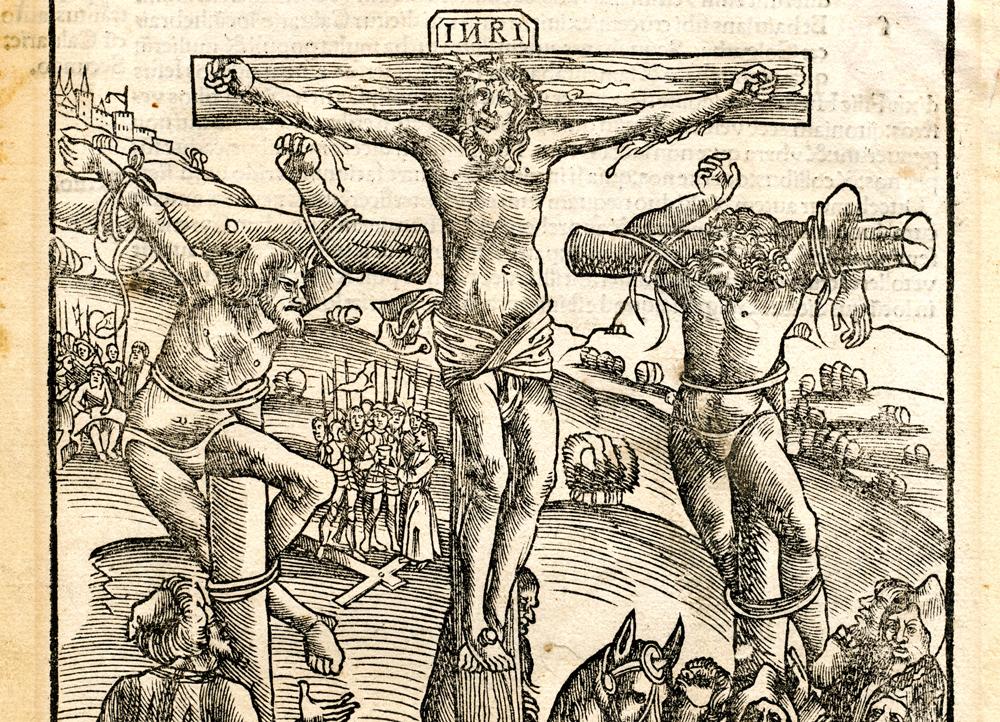 Darstellung Christus am Kreuz