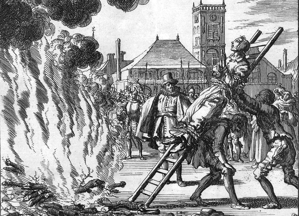 Darstellung Hexenverbrennung