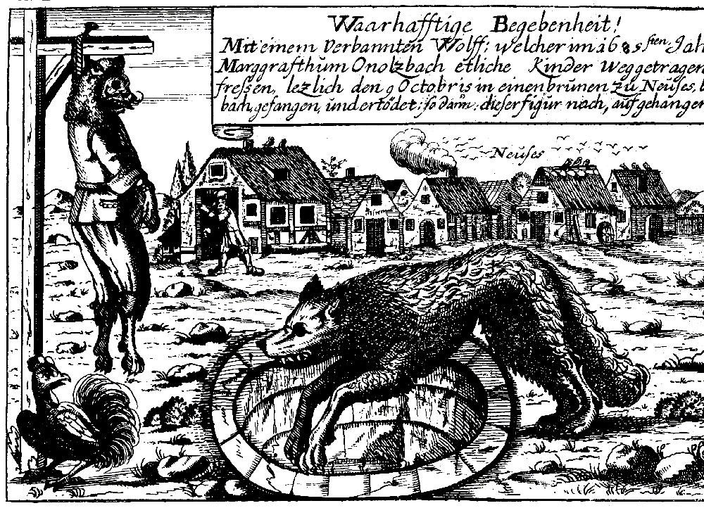Der Werwolf von Ansbach
