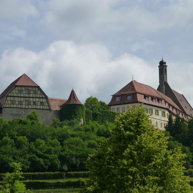 Außenansicht bei Anreise | Mittelalterliches Kriminalmuseum