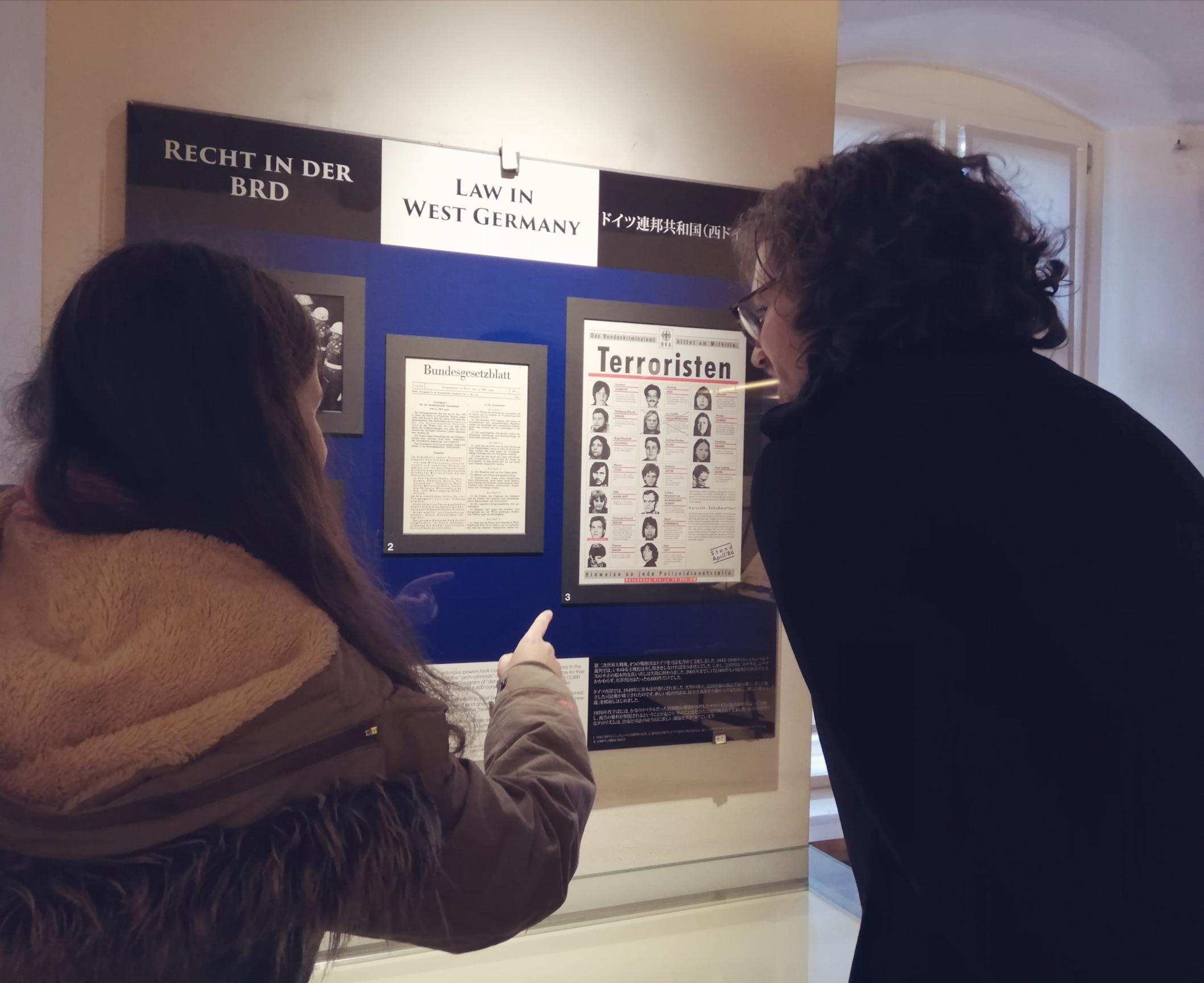 Führung im Kriminalmuseum - Besucher
