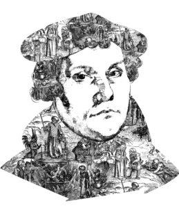 Portrait von Martin Luther
